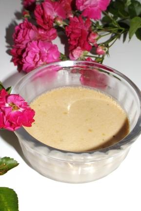 Crème au four à la rose sauvage2