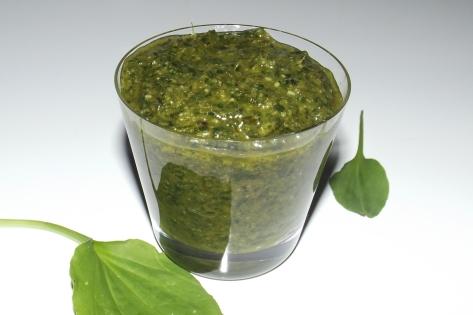 Pesto de plantain