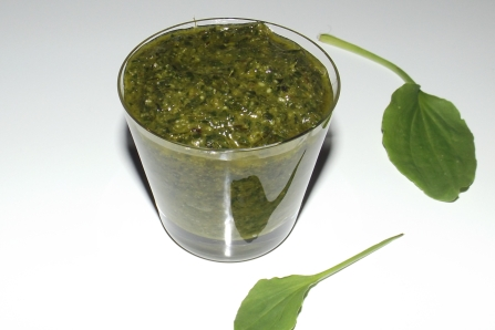 Pesto de plantain2